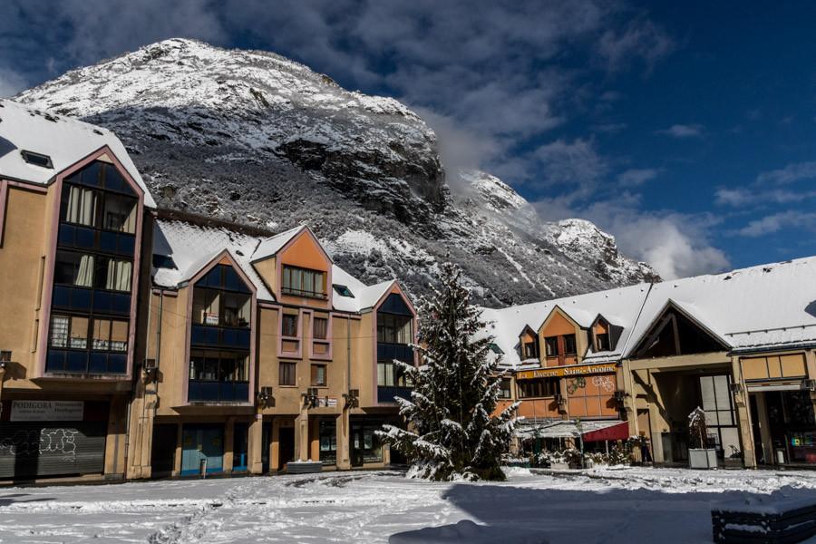 Centre ville de Saint-Jean-de-Maurienne.