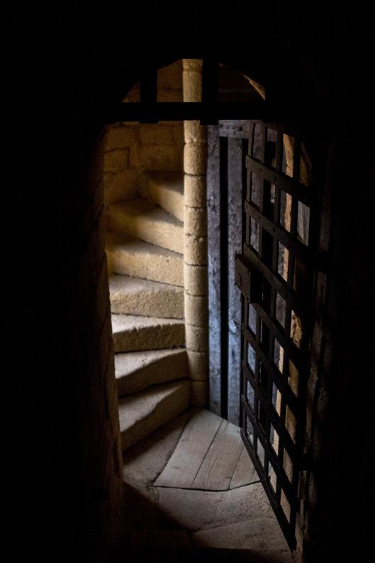 Tirage photographique - chateau - porte - mystere - porte mysterieuse - Maud Dupuy