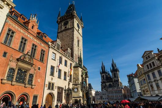 Prague - Place de la vieille ville (Staroměstské náměstí)