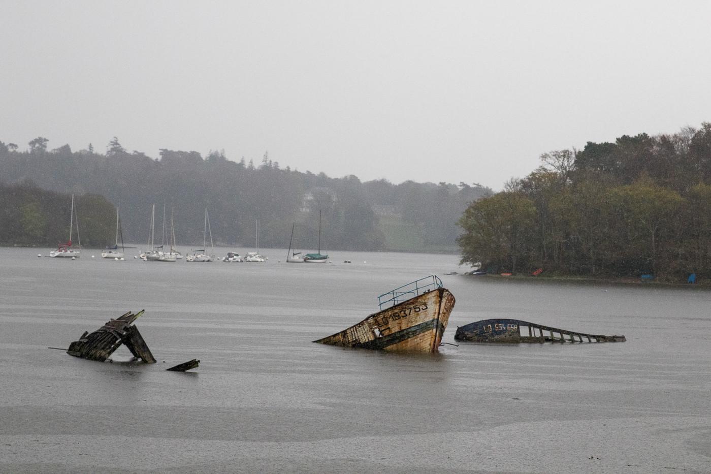 Cimetiere de bateau de Lanester
