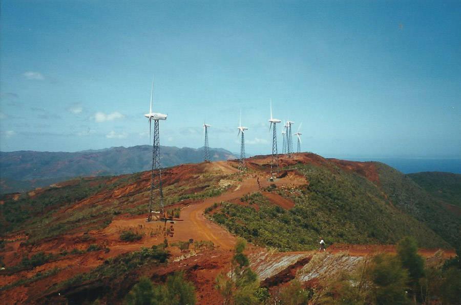 Les éoliennes du sud
