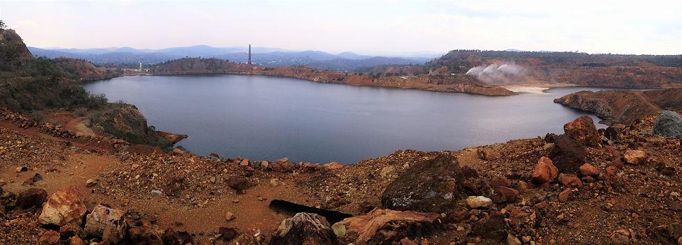 mine pit water