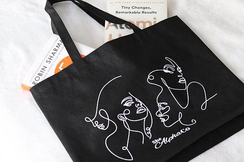 Alpha Women Tote Bag