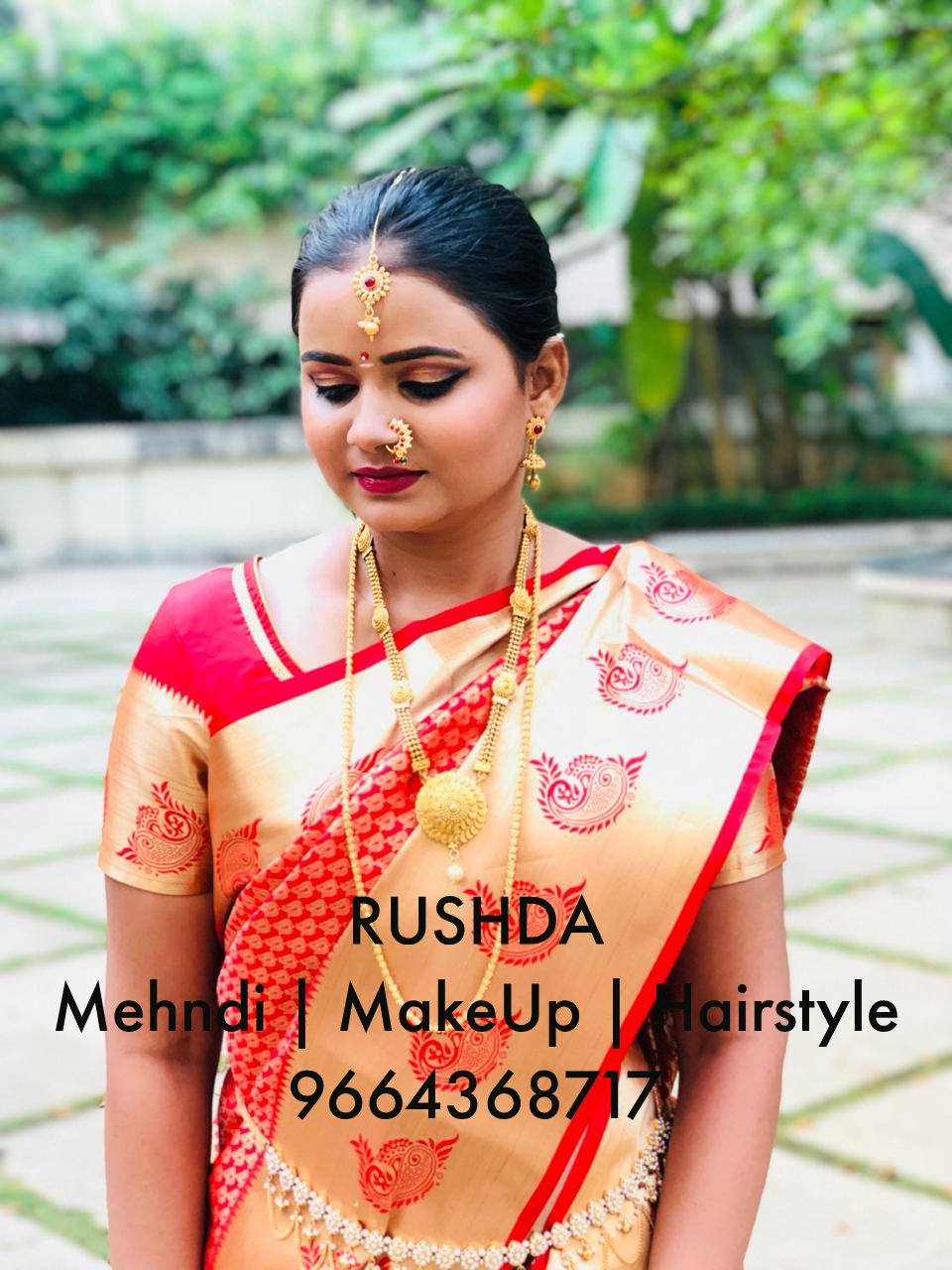 South Indian Bride Makeup 04