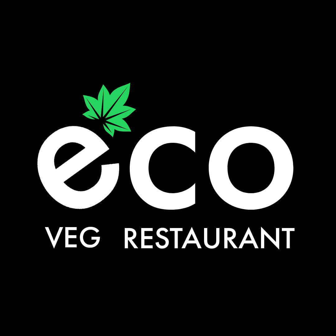 ECO Veg Restaurant Logo Design
