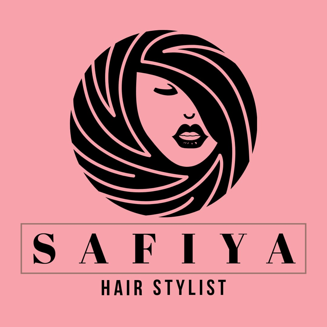 Safiya Hair Stylist Logo Design