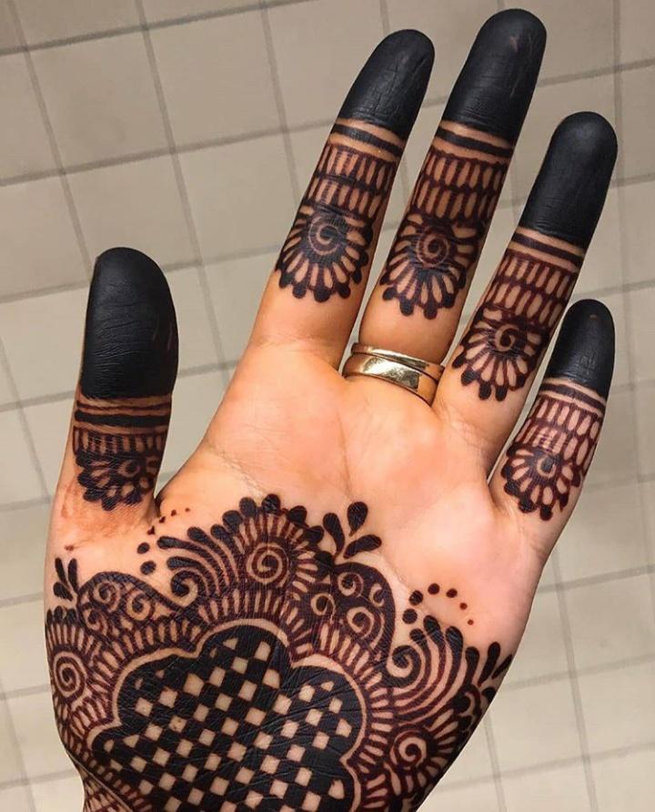 mehendi design for handd