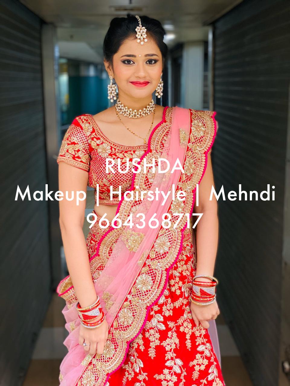 INDIAN GURAJATI BRIDE AND BRIDAL MAKEUP
