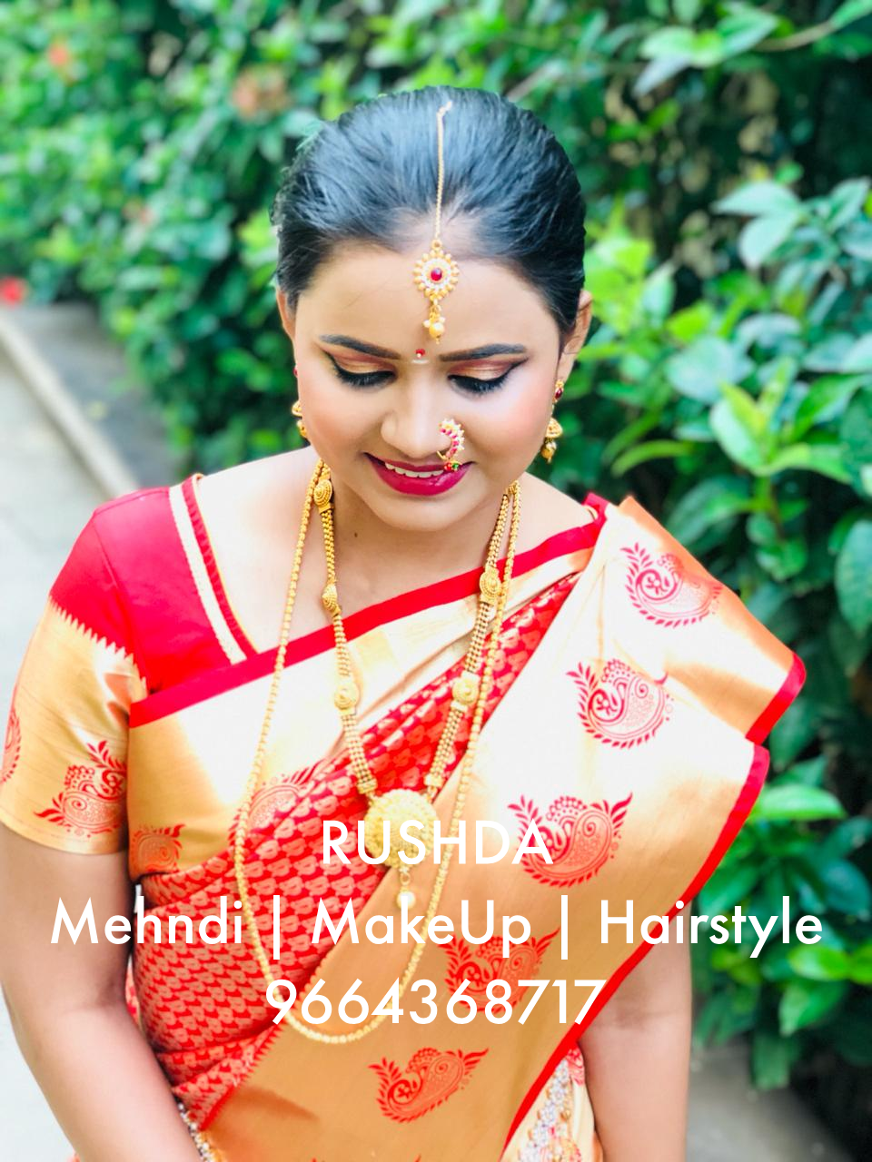 South Indian Bride Makeup