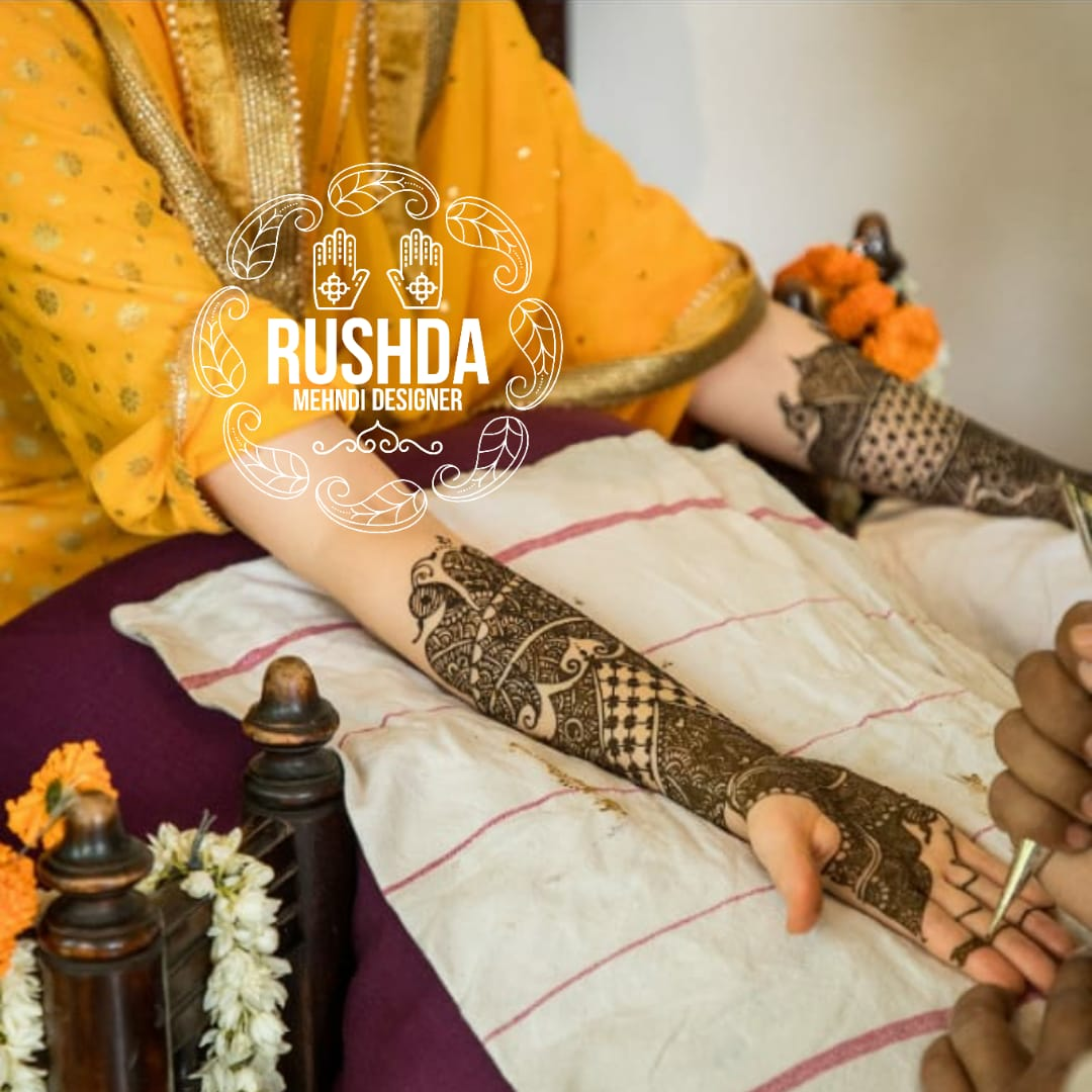 bridal mehendi designs for hands