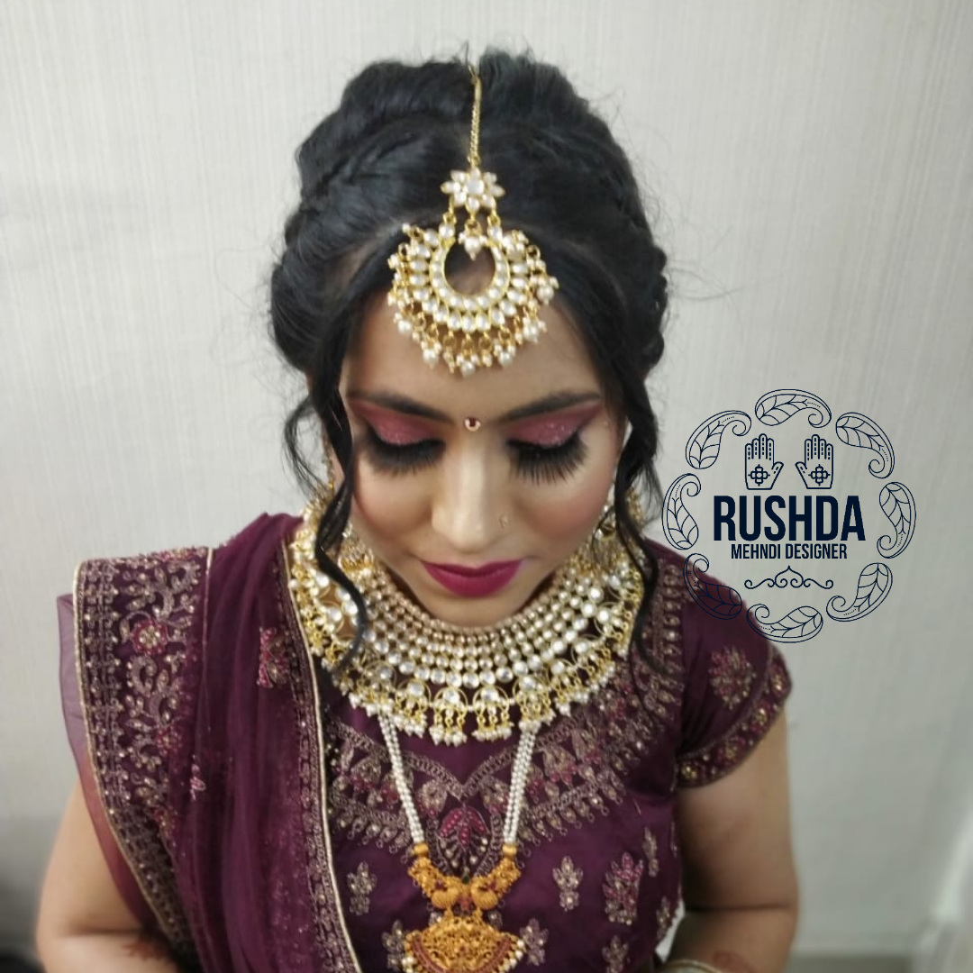 indian bridal makeup artist and hairstyl