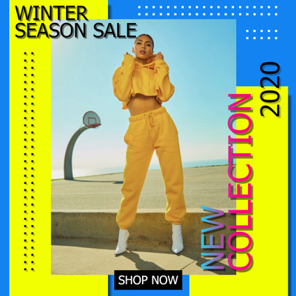 Flyer for Clothing Season Sale