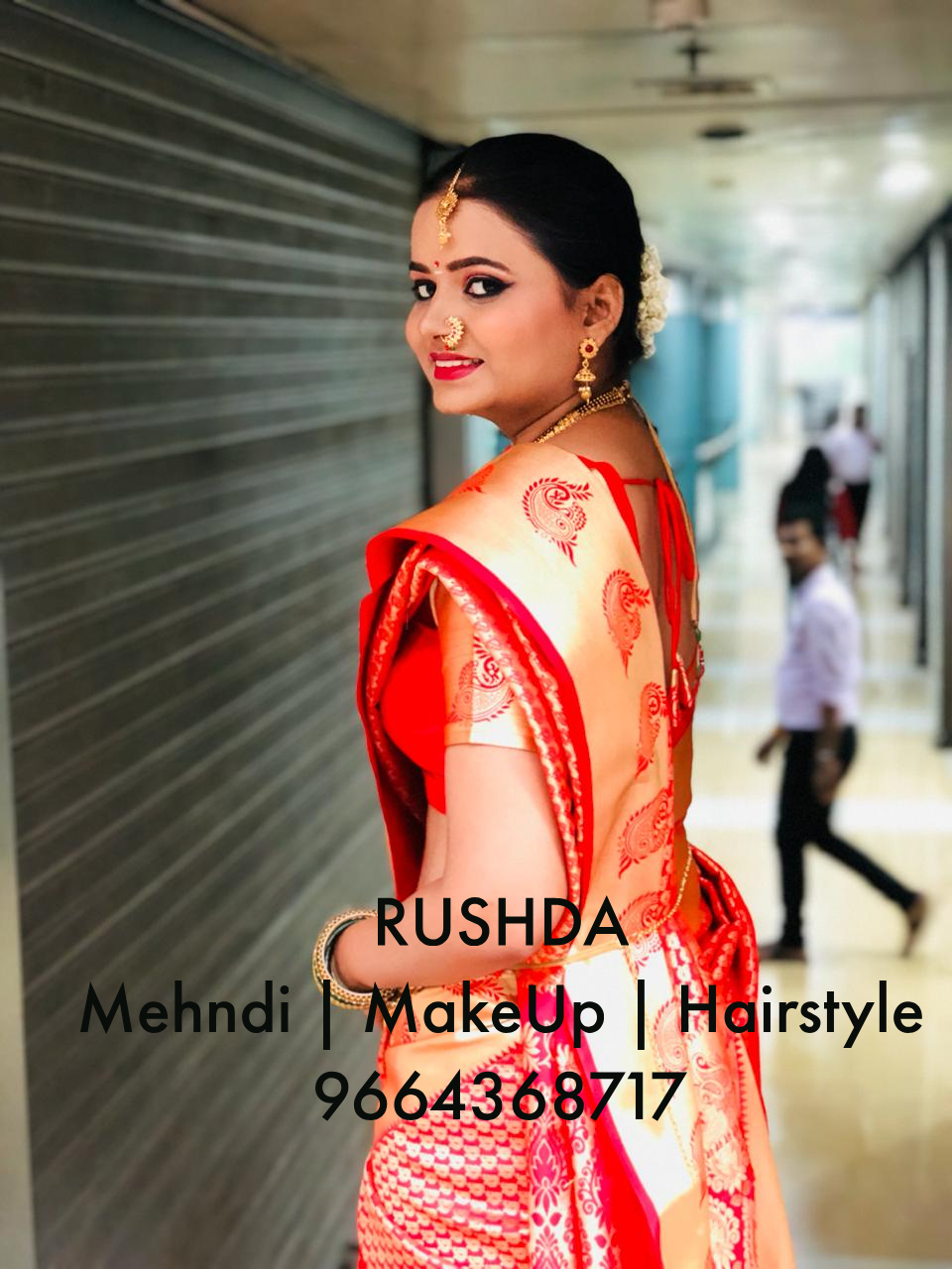 South Indian bride MakeUp 01