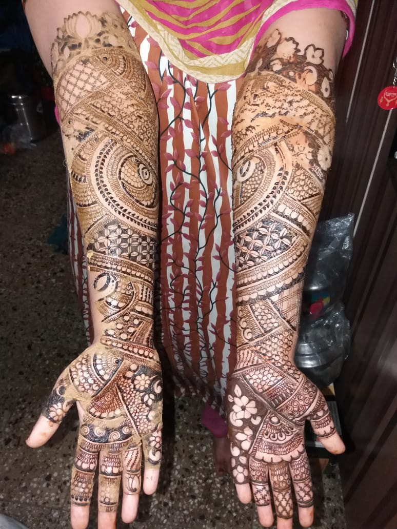 Mehndi Designs Images for Hands