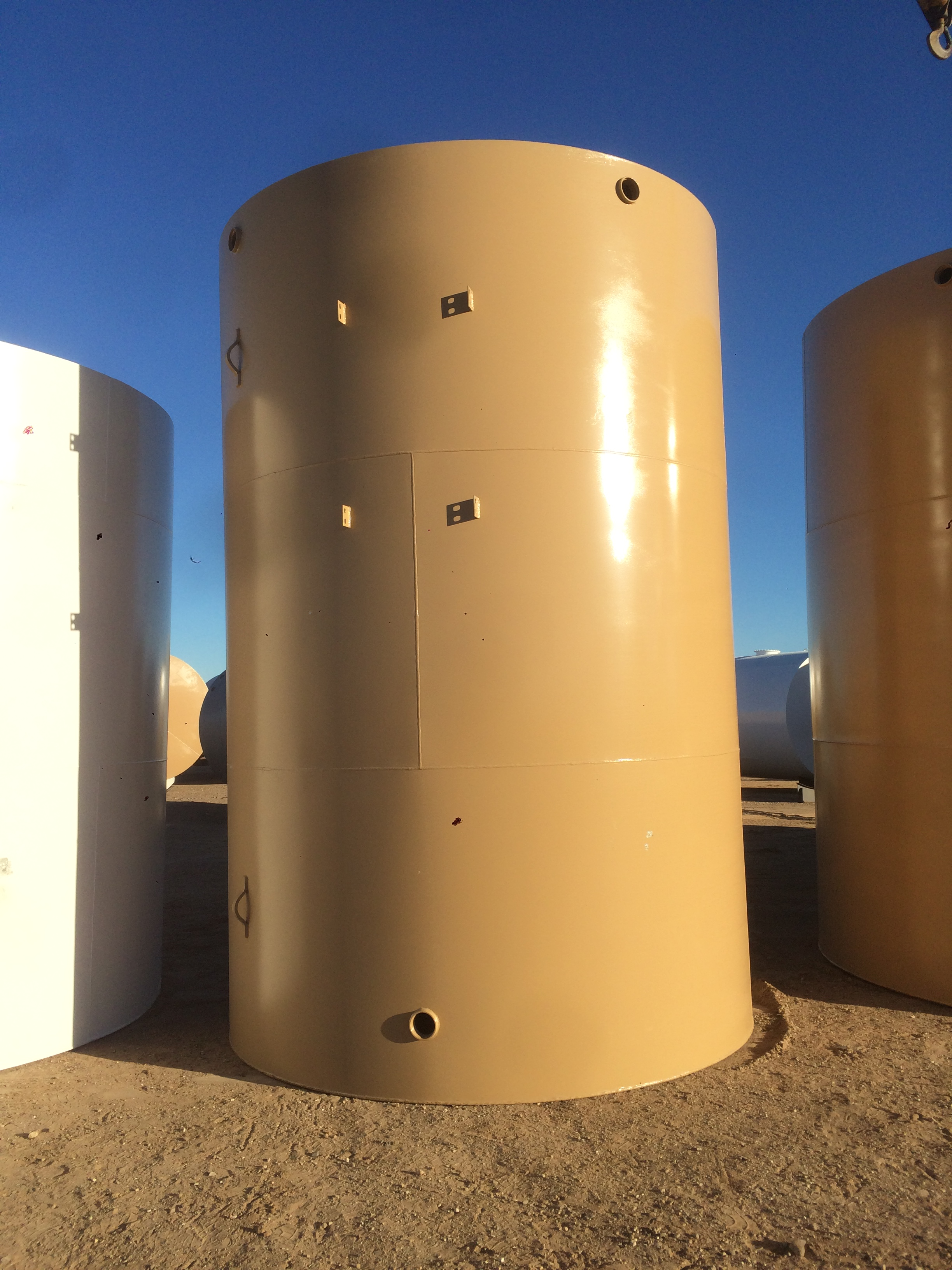 210 bbl or 8800 gal