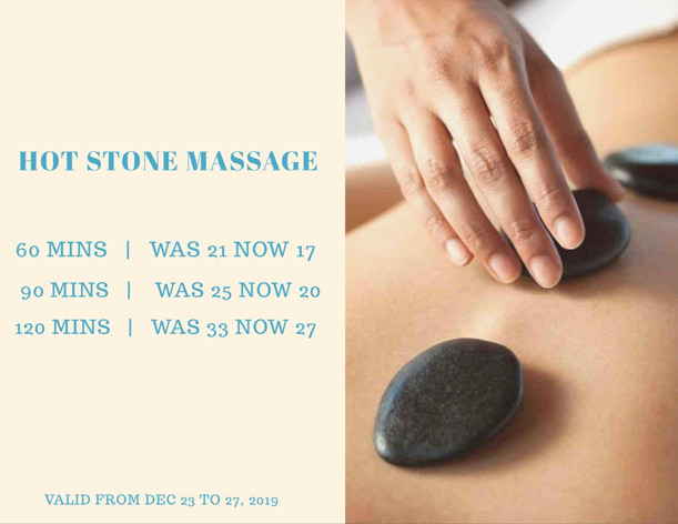 December Massage Offer