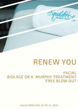Renew You Package