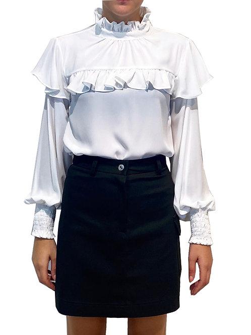 Camicia Con Collo Alto