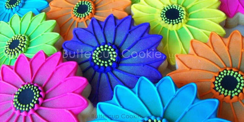 Floral Garden Beginner Cookie Decorating Class