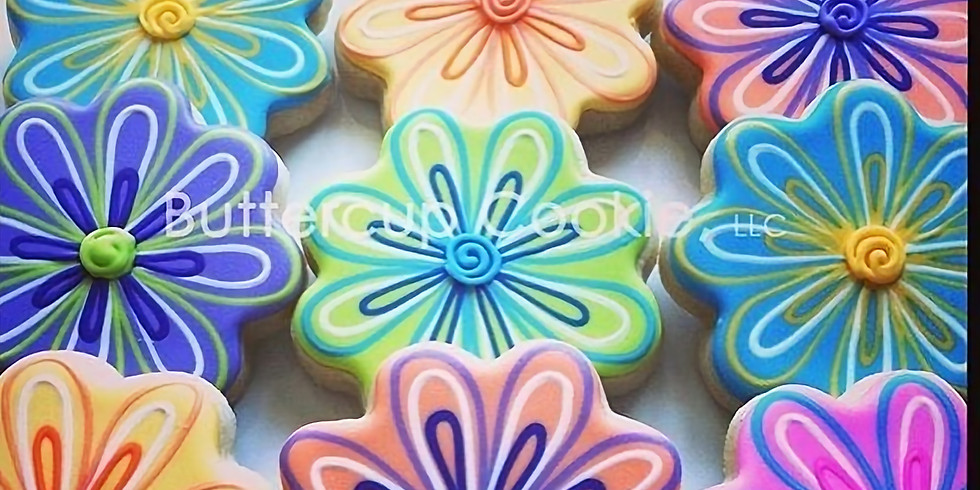 Spring Themed Cookie Decorating Level 1