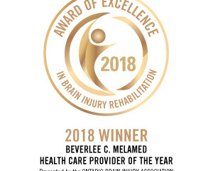 2018 Awards of Excellence in Brain Injury Rehabilitation- Health Care Provider of the Year