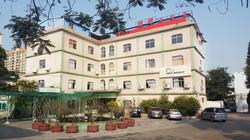 new bright administrative building