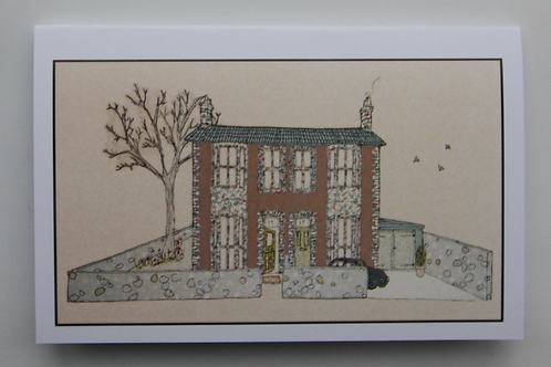 PINK HOUSE CARD