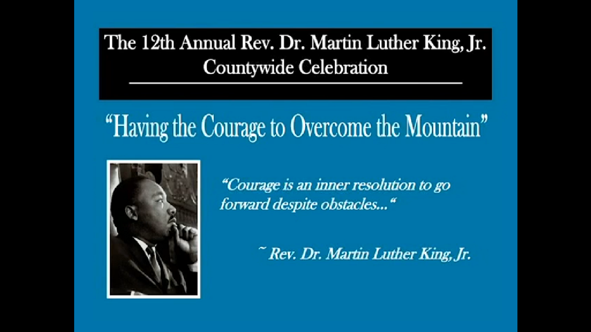 12th Annual Champaign County MLK Celebration
