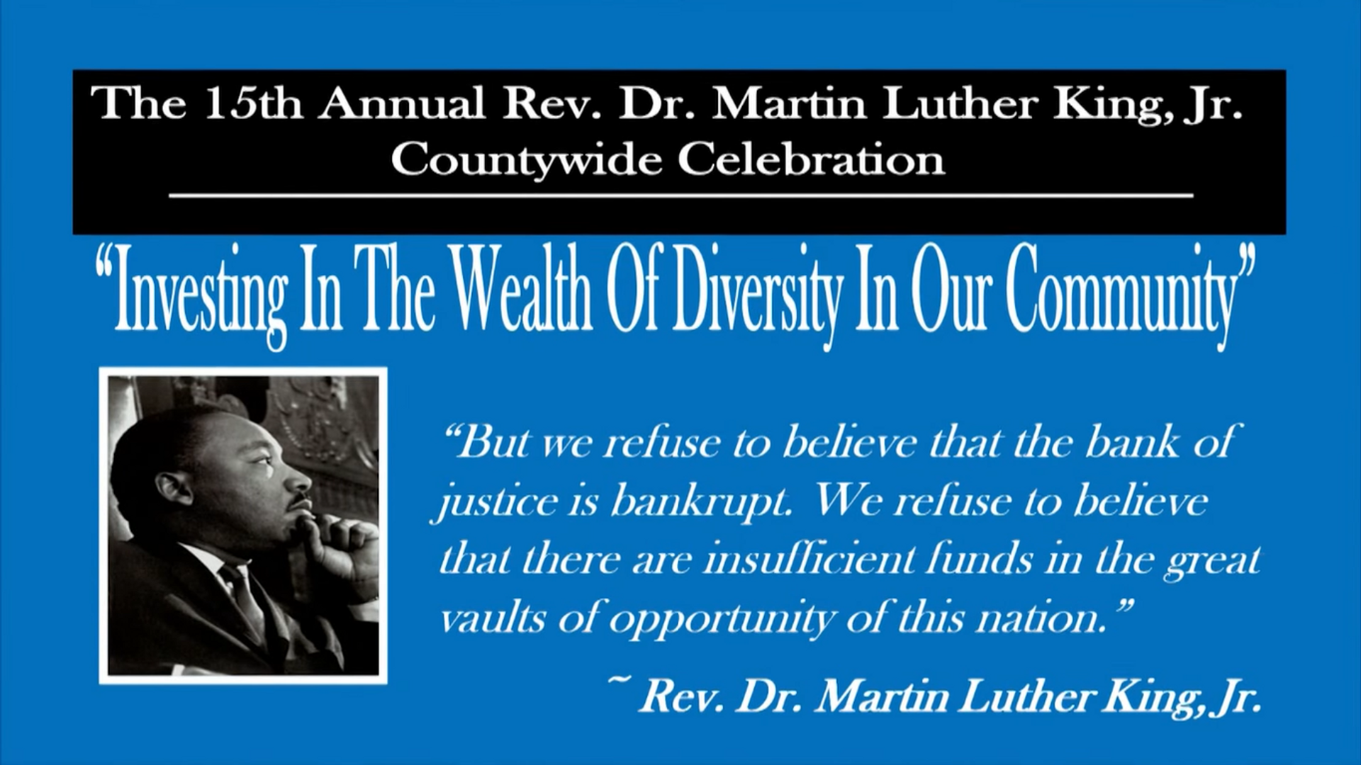 15th Annual Champaign County MLK Celebration