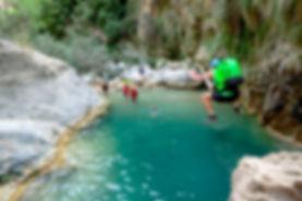 Descenso de barrancos Rio Verde