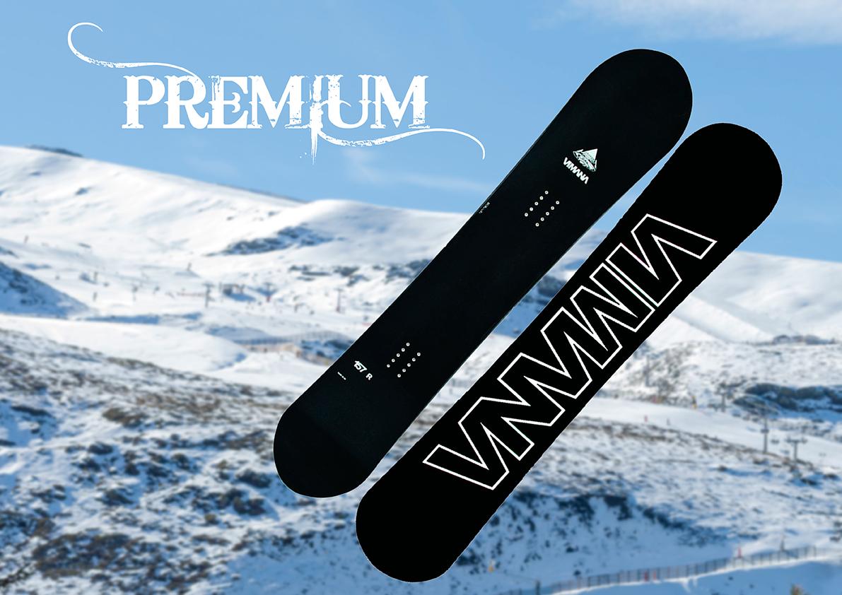 Tablas de Snowboard Gama Premium