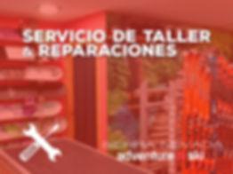 REPARACIÓN DE ESQUÍ