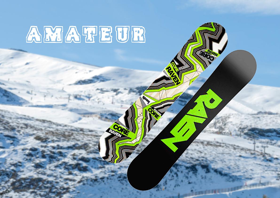 Tablas de Snowboard Gama Amateur