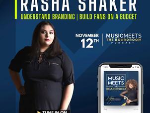 Music Meets The Boardroom Episode 22: Rasha Shaker