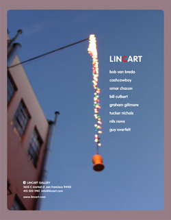 LincArt Miami Art Fair full page ad