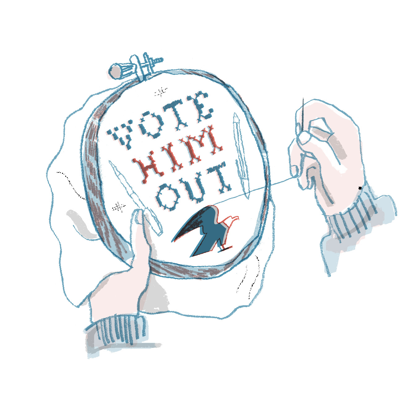 Vote Him Out | Sarah Wildfang