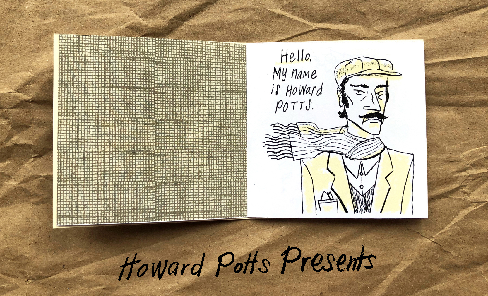 Howard Potts Presents inside front cover