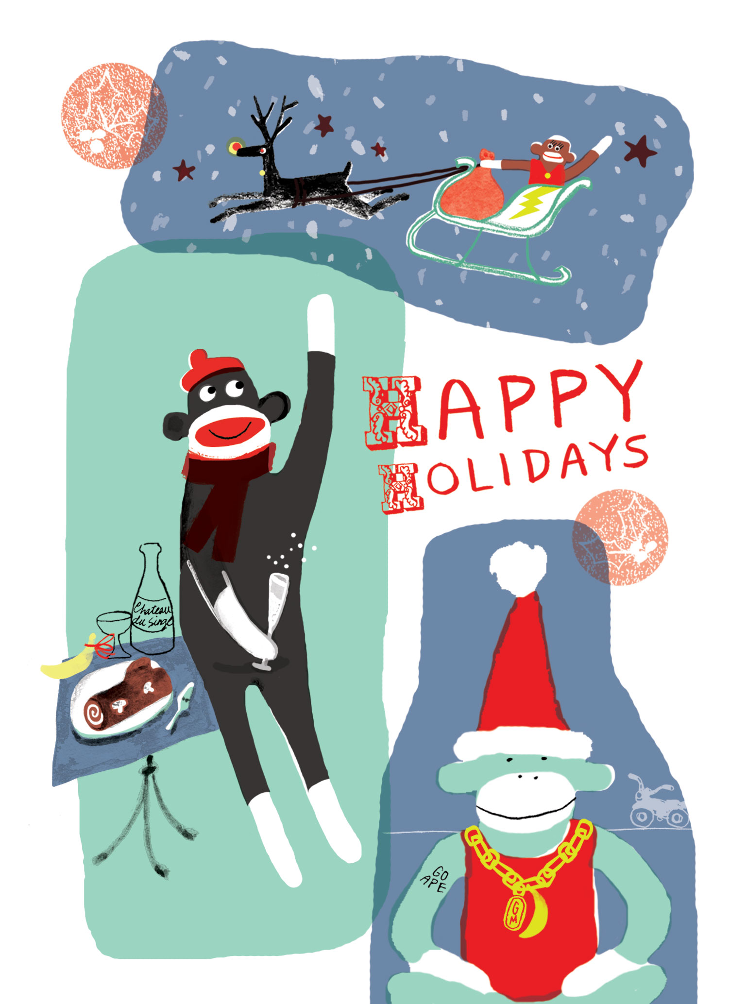 2015 Christmas Card | Sarah Wildfang