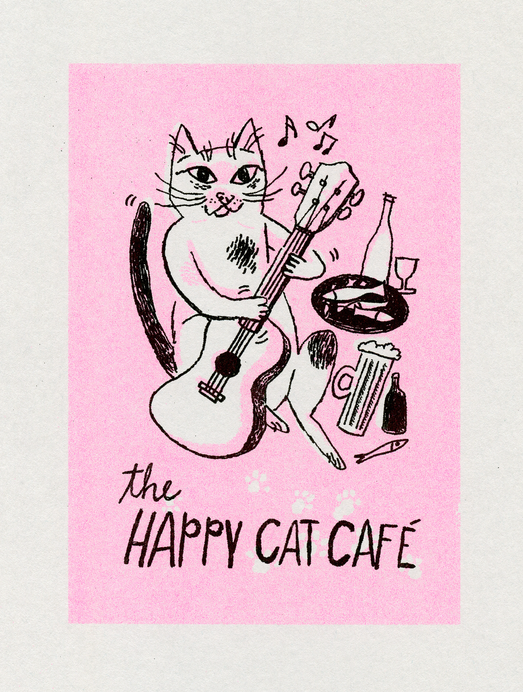 Happy Cat Cafe | Sarah Wildfang