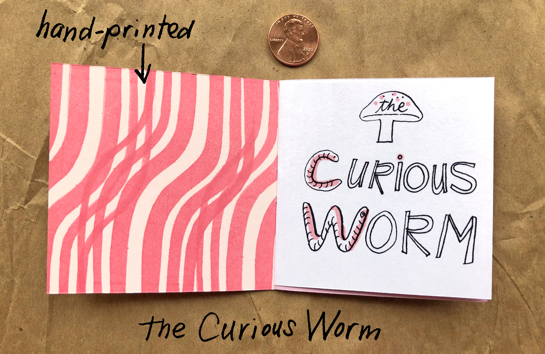 The Curious Worm inside front cover