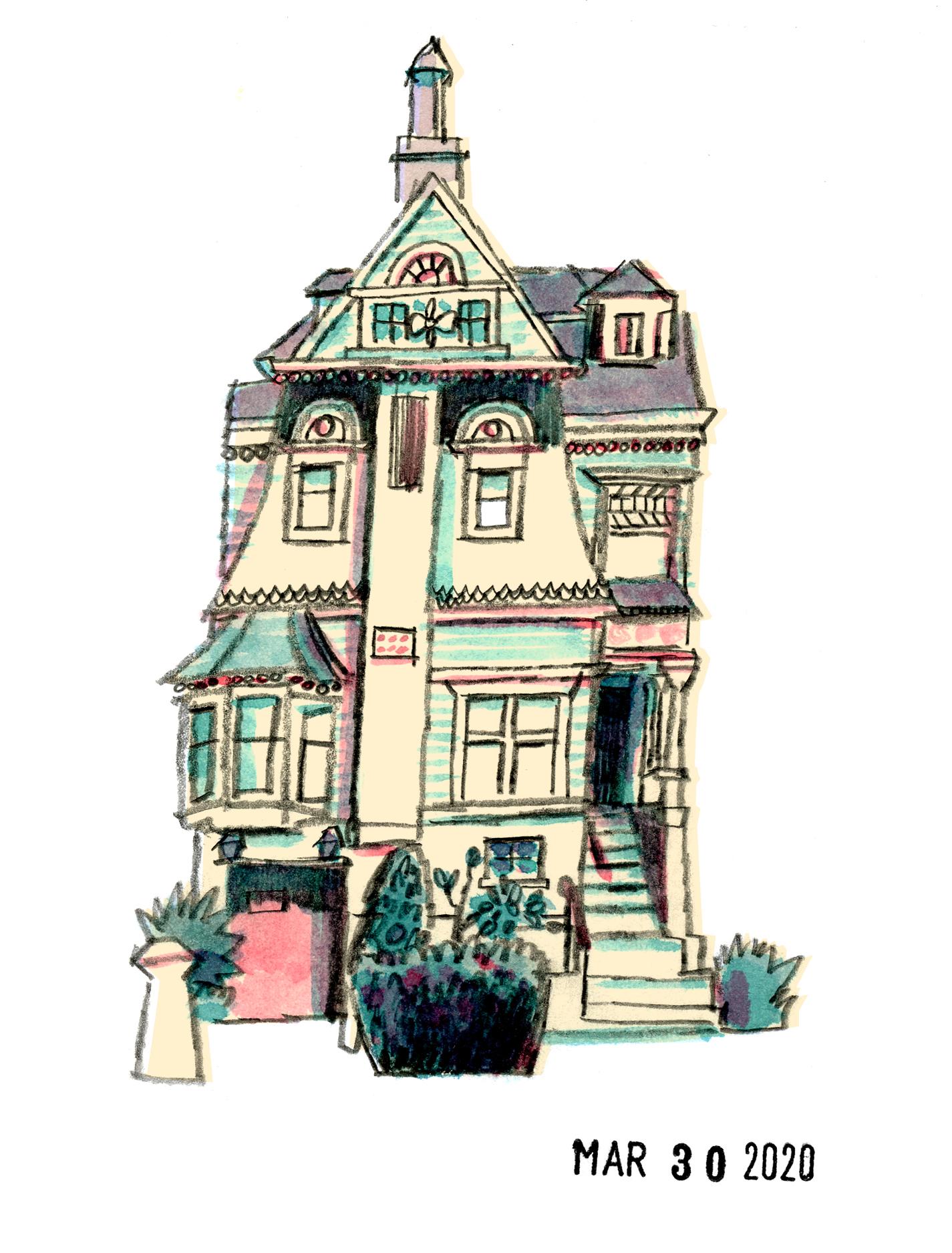 Victorian House | Sarah Wildfang