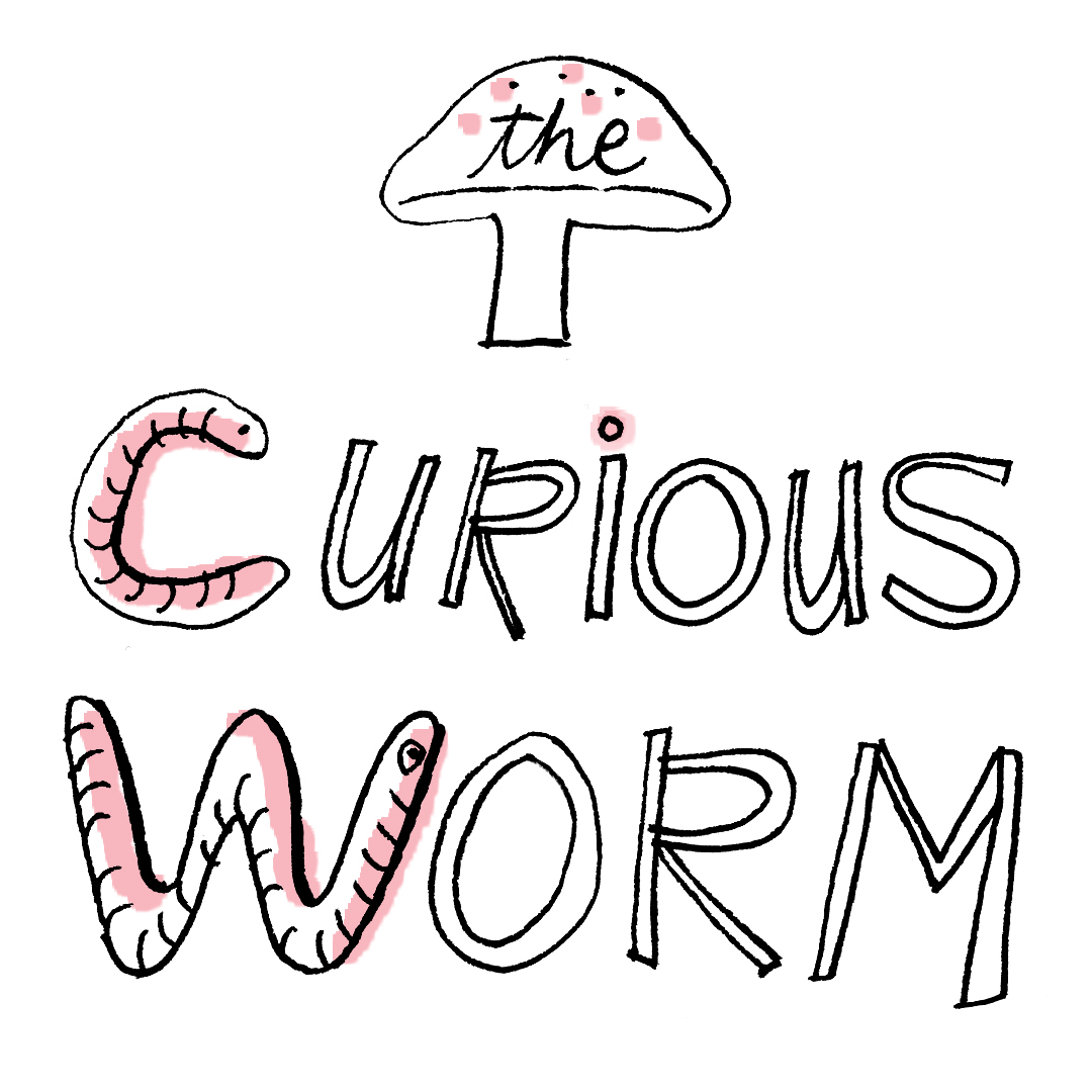 The Curious Worm Title Page