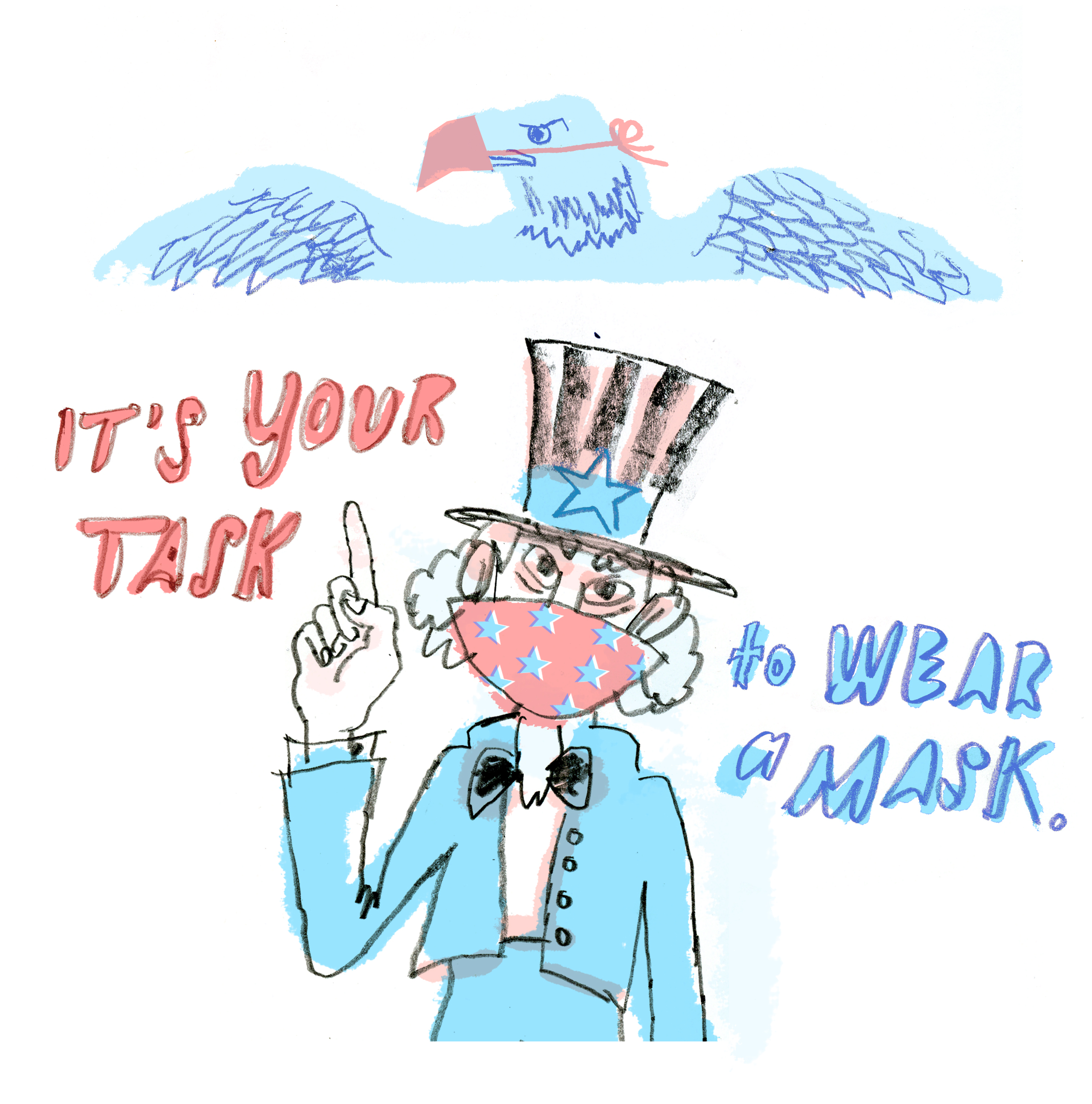 Its Your Task to Wear a Mask | Sarah Wildfang