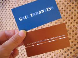 Business Card for Gail Tarantino
