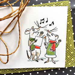 Christmas mice | Sarah Wildfang
