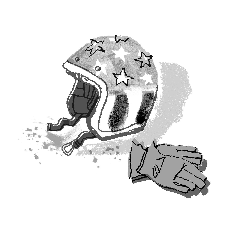 Captain America Helmet | Sarah Wildfang