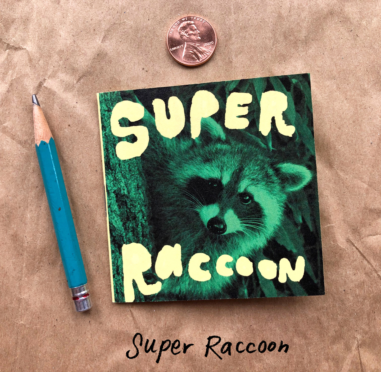 Super Raccoon Cover