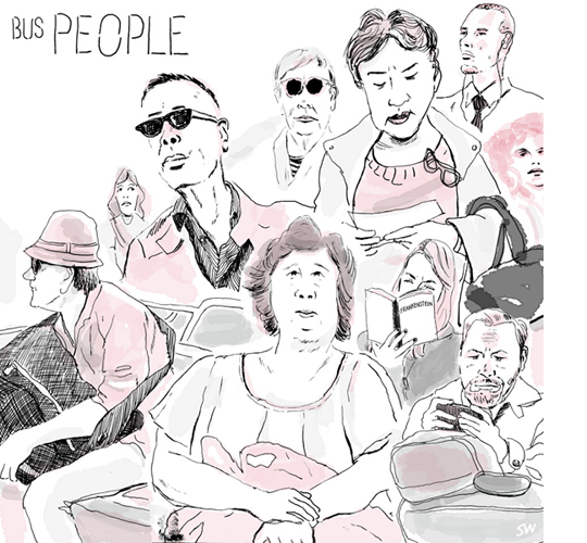 Bus People | Sarah Wildfang
