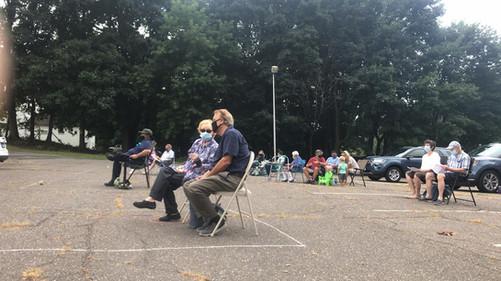 Outdoor Worship 8/30/20