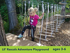ropes course for little kids